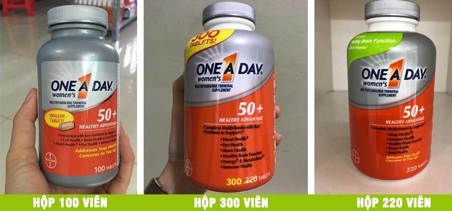 Vitamin tổng hợp One A Day For Women trên 50 tuổi: Cho sức khỏe người già