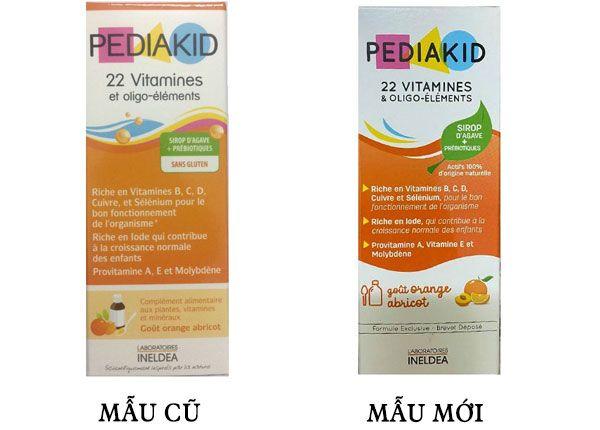 Pediakid 22 Vitamines - Bổ sung vitamin cho bé từ 6 tháng