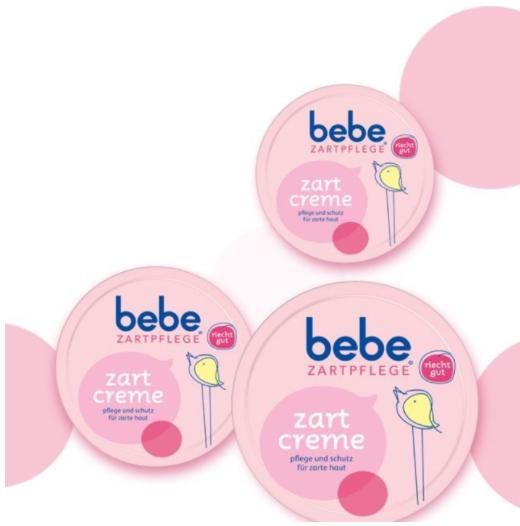 Kem dưỡng ẩm, chống nẻ cho bé BeBe Zartpflege của Đức, 50ml