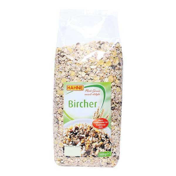 Ngũ cốc hoa quả Hahne Muesli Bircher nhập khẩu Đức