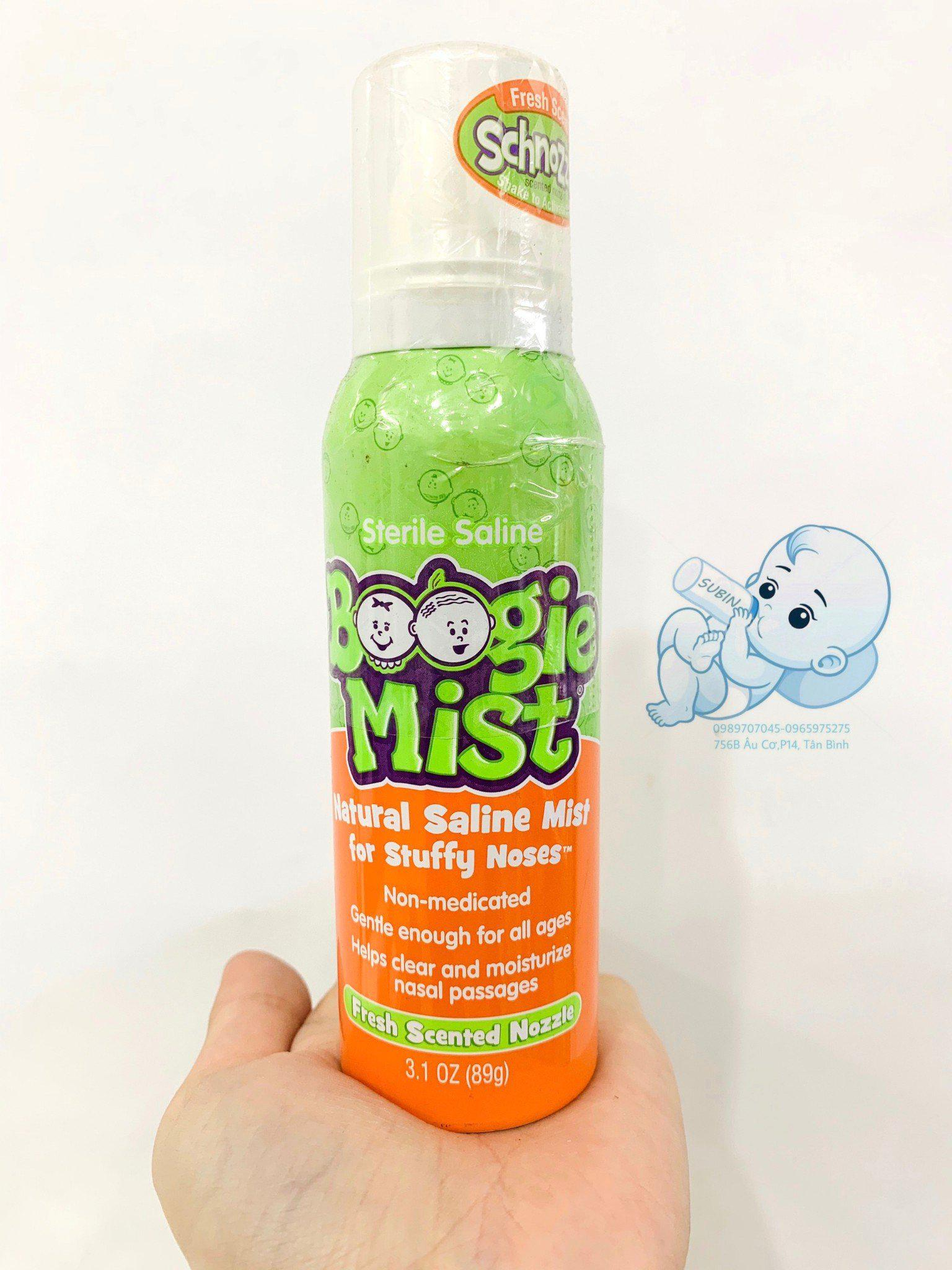 Xịt họng vô trùng Boogie Mist cho trẻ sơ sinh và trẻ nhỏ