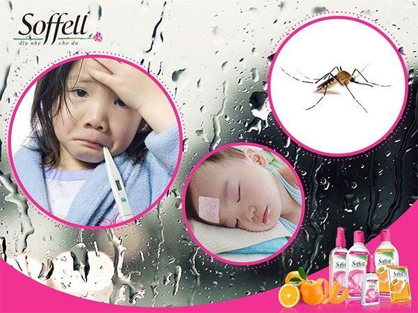 Kem chống muỗi Soffell dùng cho bé có an toàn không?