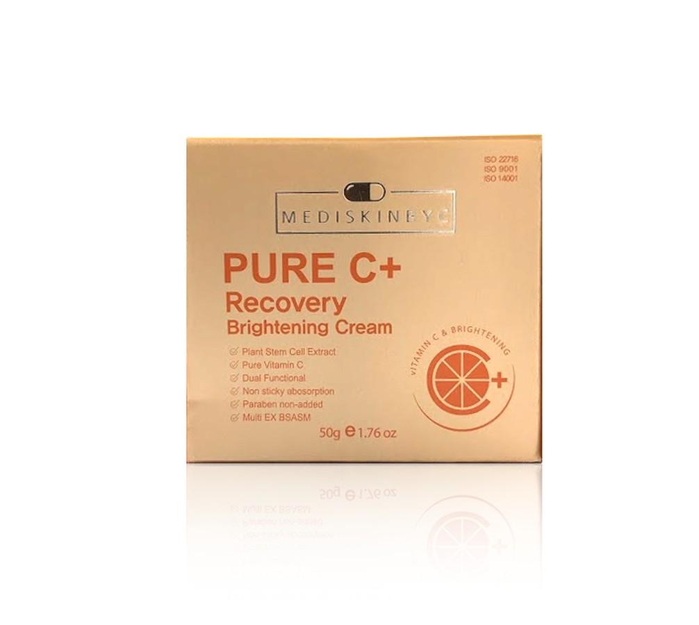 Kem dưỡng trắng da MediskinbyC Pure C+ Recovery Cream chính hãng Hàn Quốc