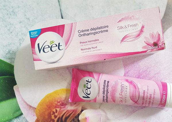 Thành phần kem tẩy lông Veet 100ml chính hãng Pháp