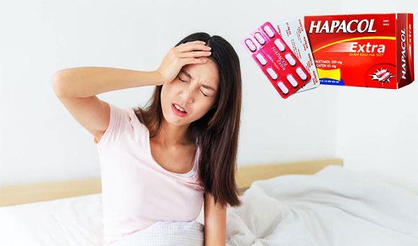 Công dụng Hapacol Extra 500mg