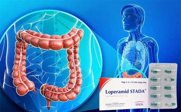 Công dụng của Thuốc Loperamid Stada