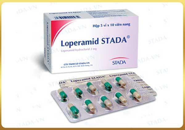 Thành phần Thuốc Loperamid Stada