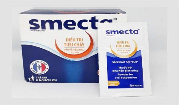 Thành phần thuốc trị tiêu chảy cấp Smecta