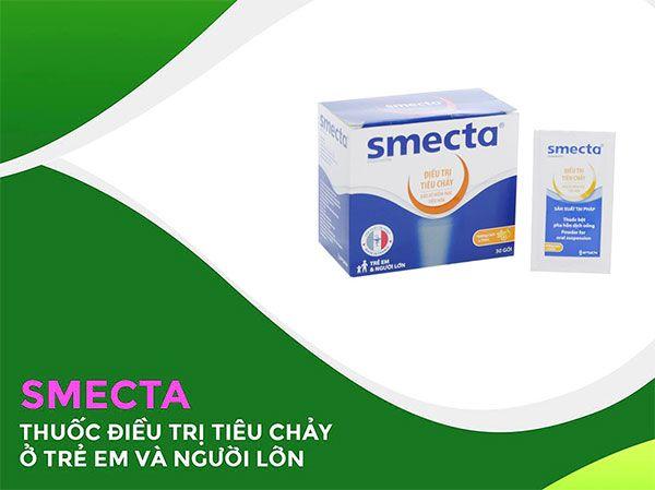 Công dụng của thuốc trị tiêu chảy cấp Smecta