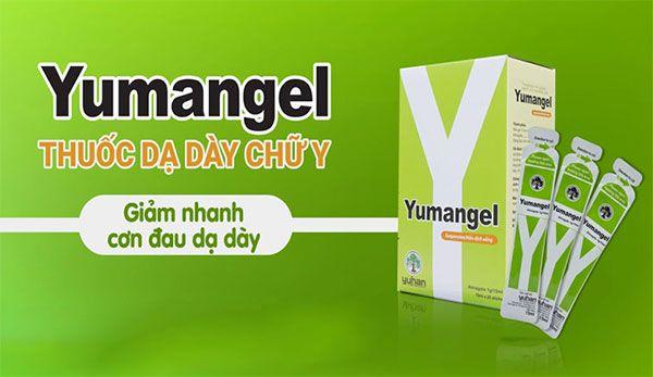 Công dụng của dịch uống Yumangel