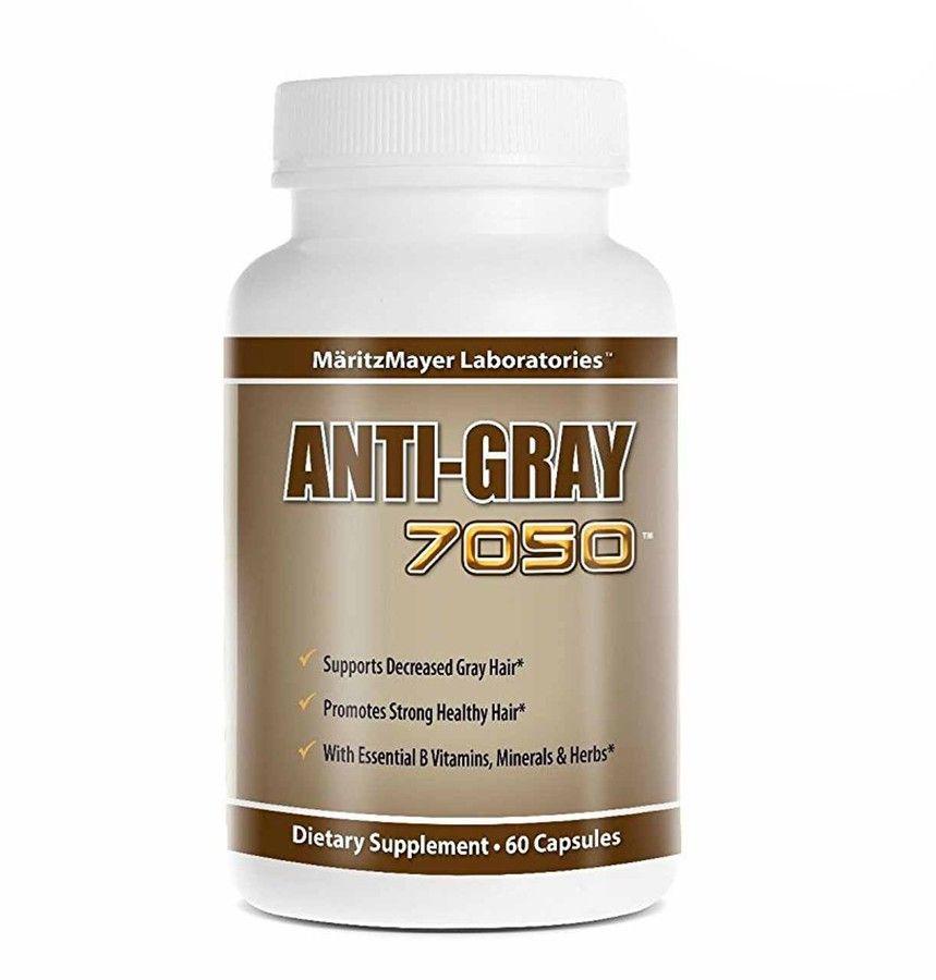 Viên hỗ trợ cải thiện tình trạng tóc bạc sớm Anti Gray 7050