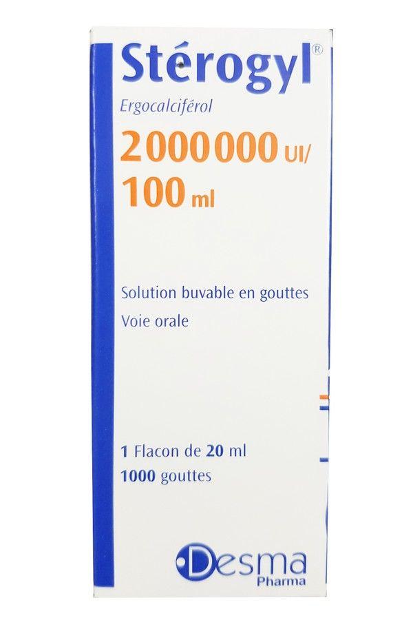 Vitamin D Sterogyl 100ml cho bé từ 0-18 tháng