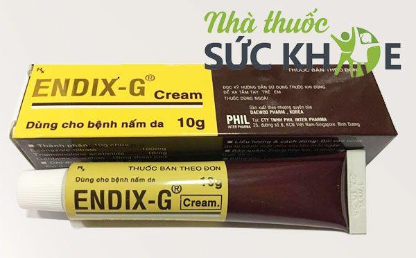 Mua Thuốc da liễu Endix-G điều trị các bệnh về da 10g, Giá tốt