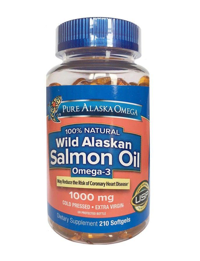 Dầu Cá Hồi Pure Alaska Omega Wild Alaskan Salmon Oil 1000mg