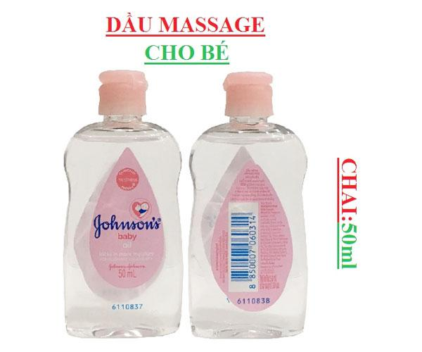 Ưu điểm Dầu massage dưỡng ẩm Johnson's Baby Oil cho bé