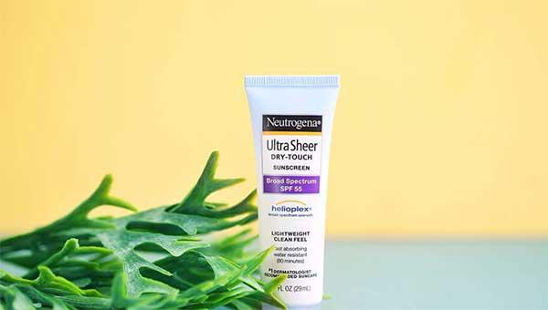 Thành phần có trong kem chống nắngNeutrogena Ultra Sheer Dry-Touch Sunscreen