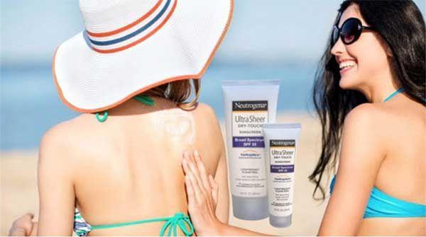 Đặc điểm Kem chống nắng Neutrogena Ultra Sheer Dry touch Broad Spectrum