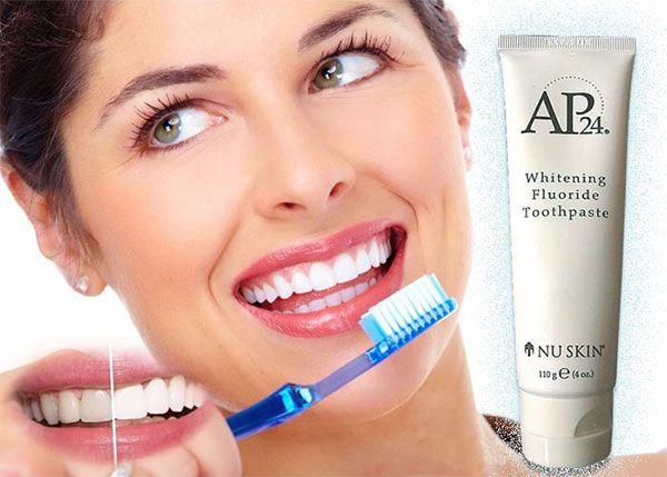 Công dụng kem đánh răng AP24 Nu Skin
