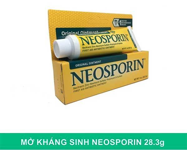 Thành phần Kem mỡ Neosporin Original Ointment