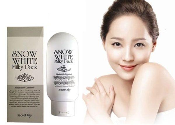 Thành phần kem hỗ trợ tắm trắng Snow White Milky Pack