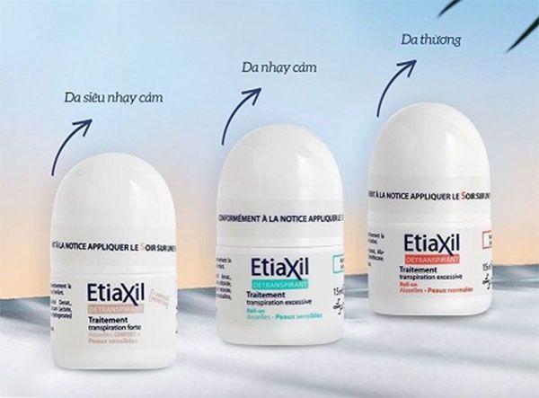 Thành phần chính Lăn khử mùi Etiaxil