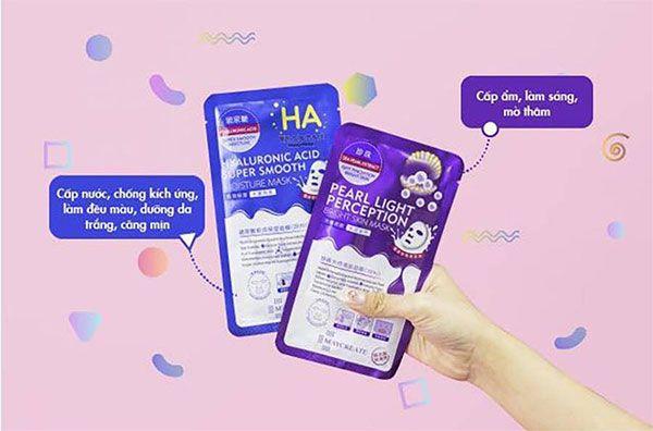 Công dụng Mặt nạ HA Hyaluronic Acid dưỡng ẩm cho da mềm mịn, chính hãng