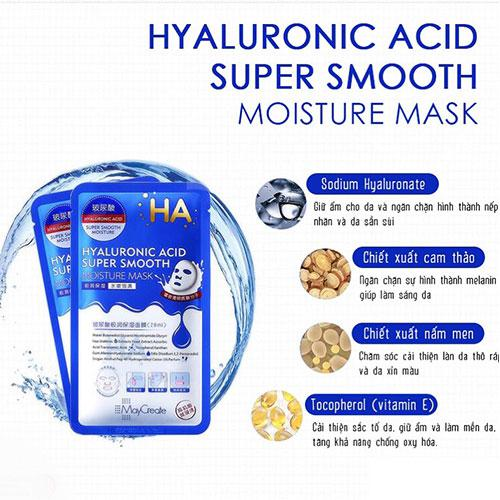 Thành phần của mặt nạ HA Hyaluronic Acid
