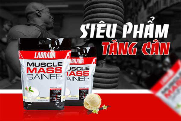 Công dụngcủaMuscle Mass Gainer