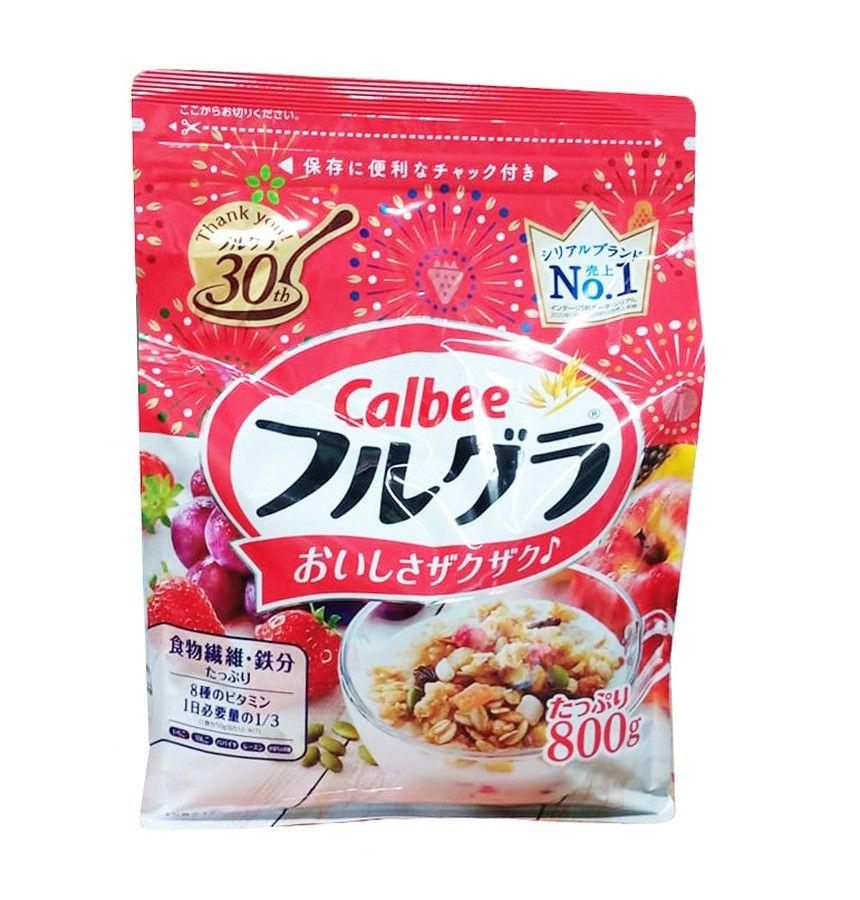 Ngũ cốc sấy khô Calbee Nhật Bản 800g
