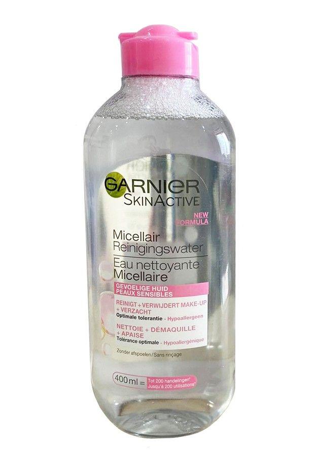 Nước tẩy trang Garnier màu hồng (mẫu mới)