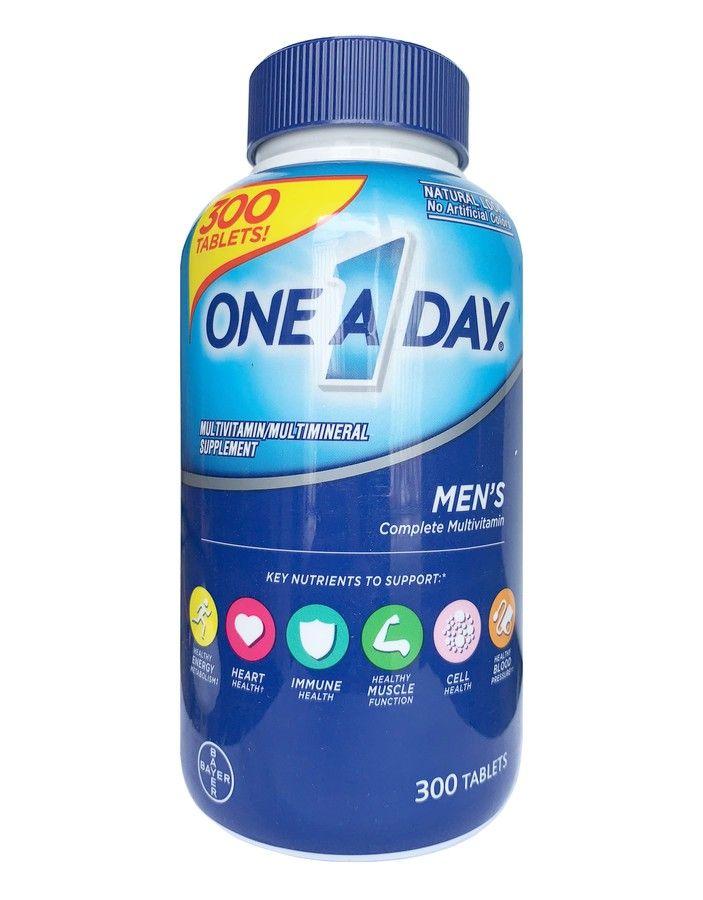Viên bổ sung vitamin One A Day Men's Multivitamin Health Formula lọ 300 viên (mẫu mới)