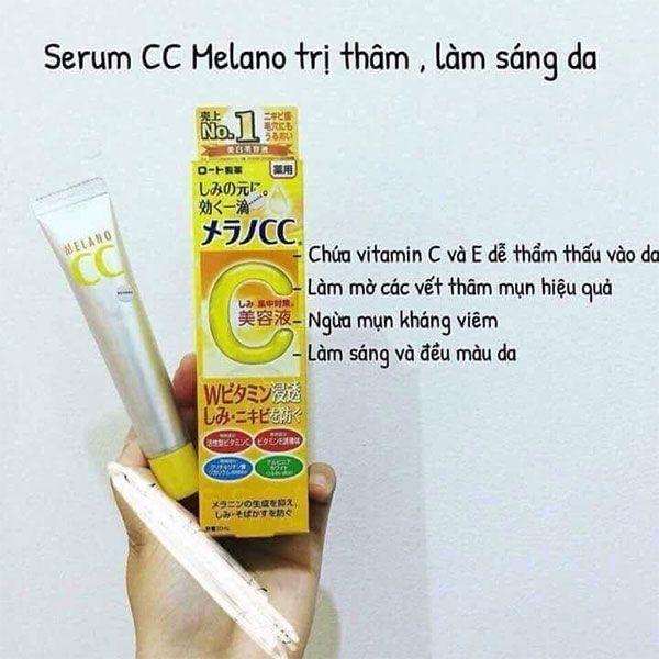Thành phần Serum CC Melano