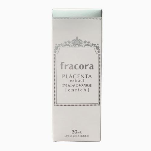 Serum nhau thai Fracora White'st Enrich hỗ trợ dưỡng trắng da mẫu mới