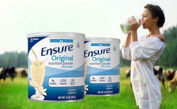 Sữa Bột Ensure Original Nutrition Powder Add Water Chính Hãng Mỹ