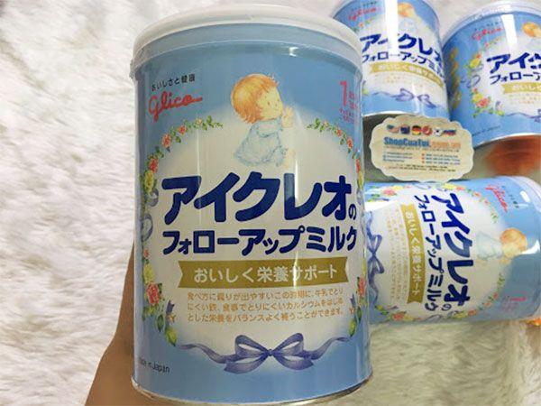 Ưu điểm của sữa Glico số 1 Nhật Bản