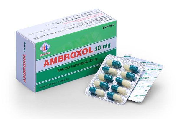 Công dụng Ambroxol