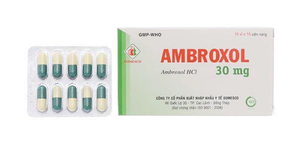 Mua thuốc long đờm, tiêu chất nhầy đường hô hấp Ambroxol 30mg