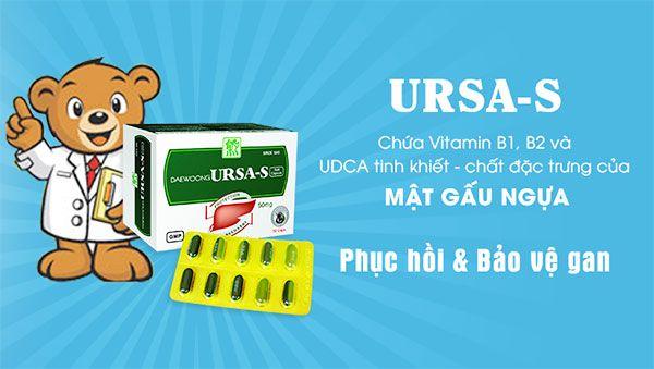 Thành phần thuốc bổ gan Ura S