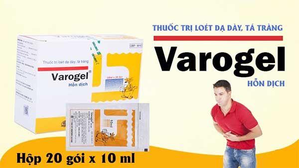 Thành phần Thuốc dạ dày Varogel