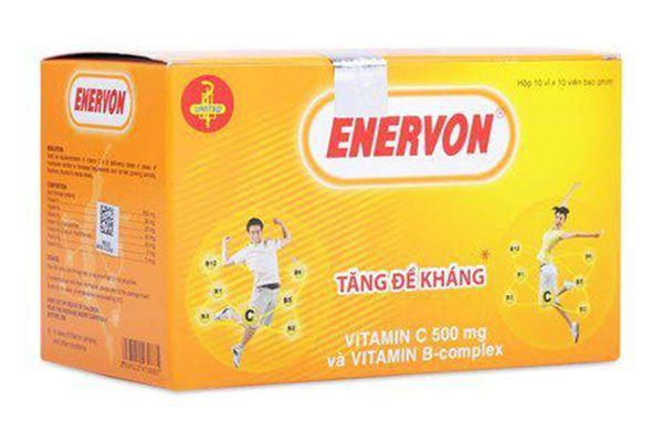 Thuốc Enervon - Trị thiếu hụt Vitamin C, B tăng sức đề kháng