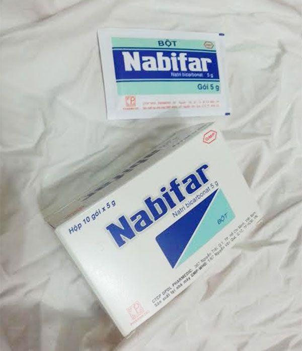 Thành phần thuốc vệ sinh vùng kín Nabifar
