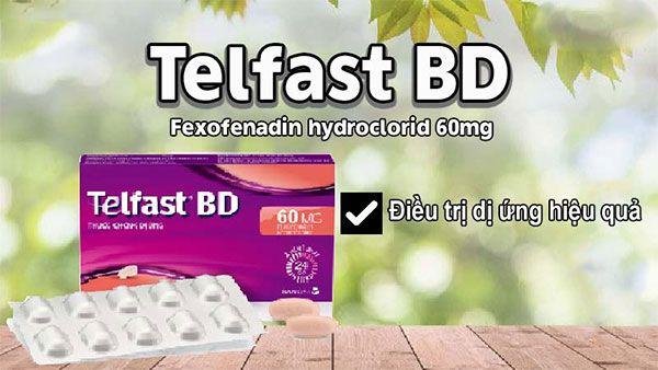 Công dụng của Telfast BD 60mg