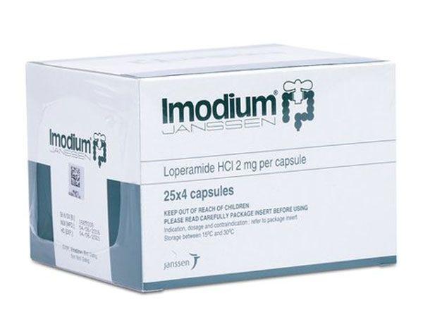 Thành phần Thuốc tiêu chảy Imodium 2mg