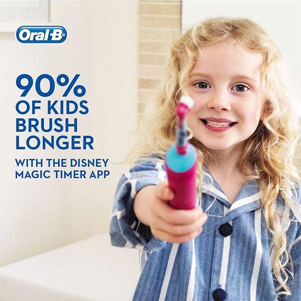 Bàn chải Oral-B Stages Power - bàn chải đánh răng điện cho bé gái của Đức