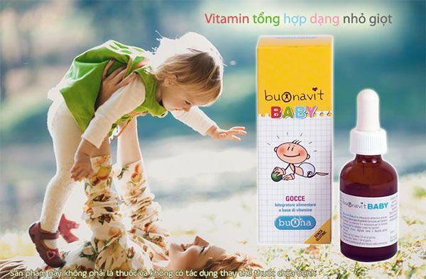 Thành phần trong Vitamin tổng hợp Buonavit Baby