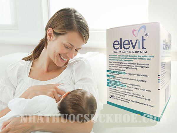 Viên uống Elevit Breastfeeding cho phụ nữ sau sinh của Úc (60 viên)