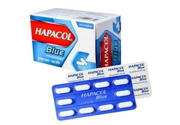 Công dụng Thuốc Hapacol Blue 500mg - Trị đau đầu, đau nửa đầu, đau răng