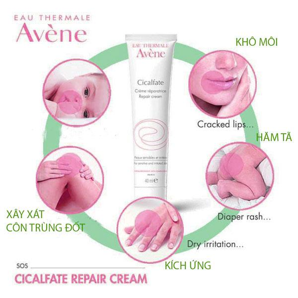 Ưu điểm của Avene Cicalfate Repair Cream