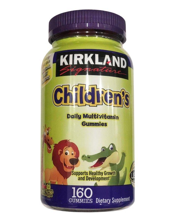 Kẹo Kirkland Children's Multivitaminchính hãng của Mỹ