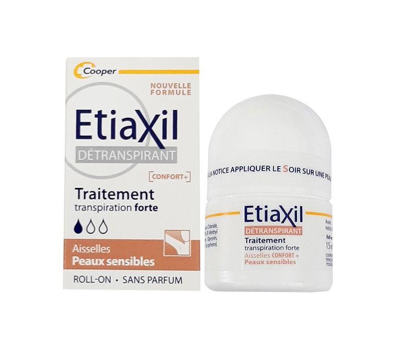 Lăn hỗ trợ khử mùi Etiaxil Confort+ Cho Làn Da Nhạy Cảm mẫu mới